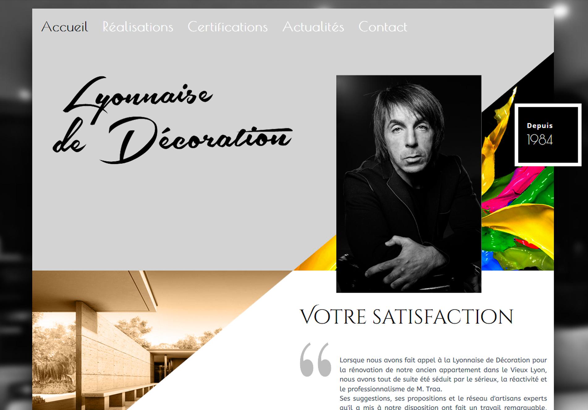 Lyonnaise de décoration - cmcgraphiste
