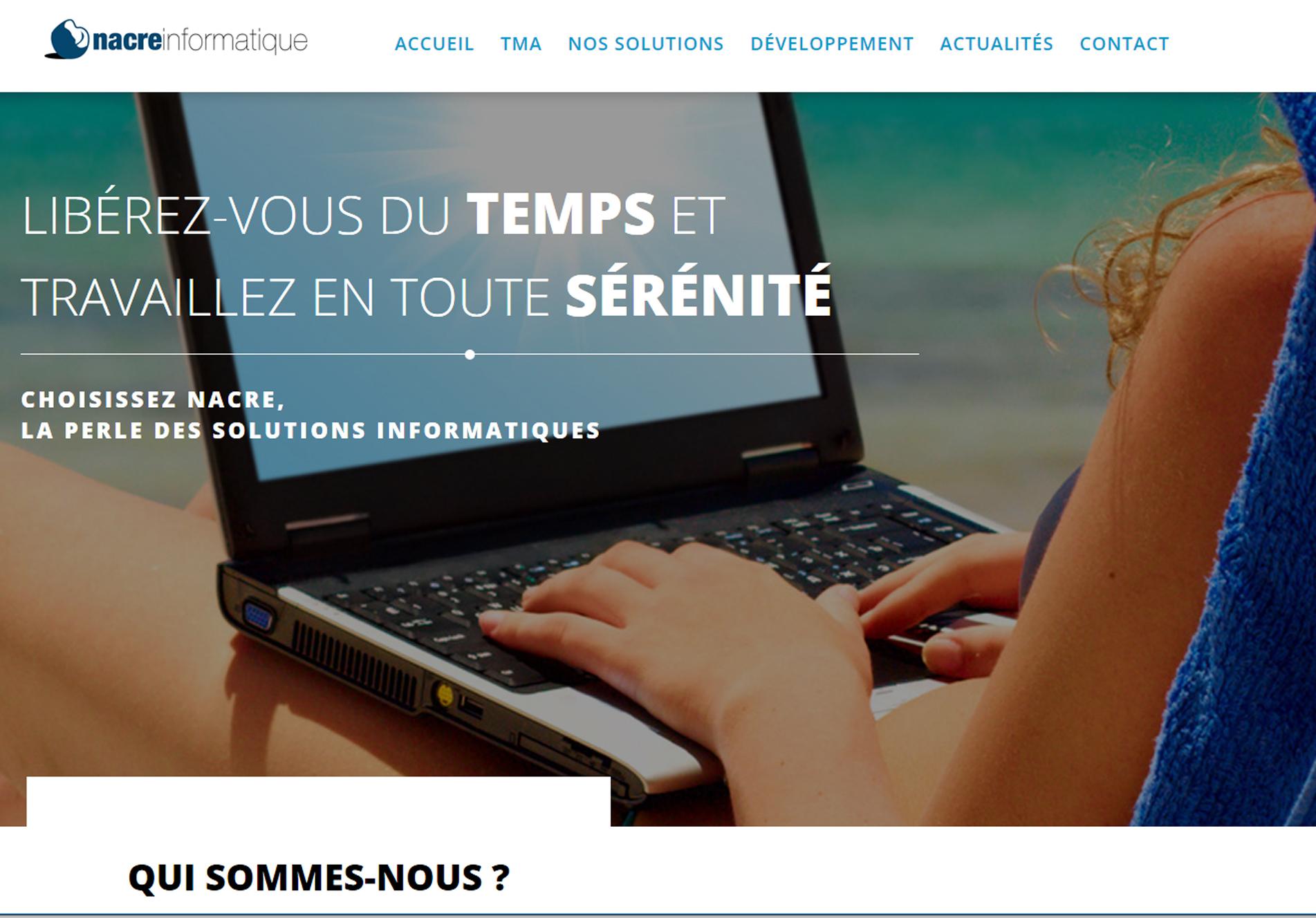 Nacre Informatique - cmcgraphiste